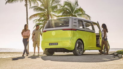 Volkswagen's Nostalgic Type 2 Van to Relive as E-Bulli 6