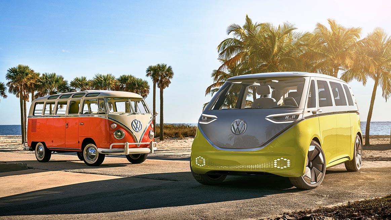 Volkswagen's Nostalgic Type 2 Van to Relive as E-Bulli 2