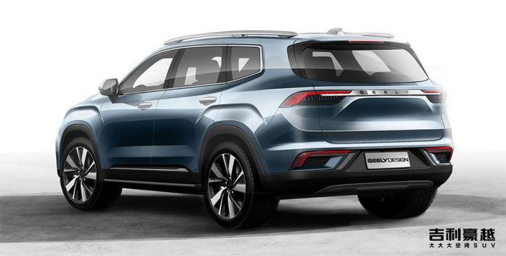 Geely Releases First Official Photos of its New Flagship Haoyue SUV 8
