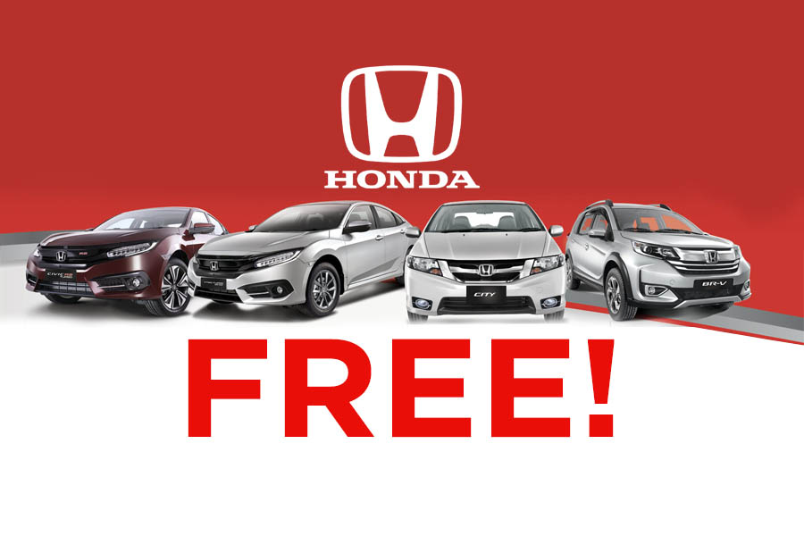 Honda Offers 'Month Full of Surprises' to Lure Customers 1