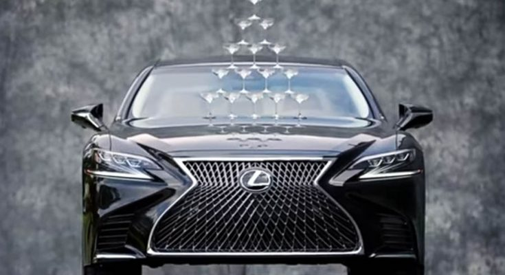 Lexus Recreates the Timeless 'Champagne Glass' Commercial for the New LS-500 1