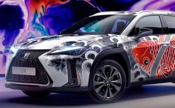 Lexus Unveils World's First Tattooed Car 1