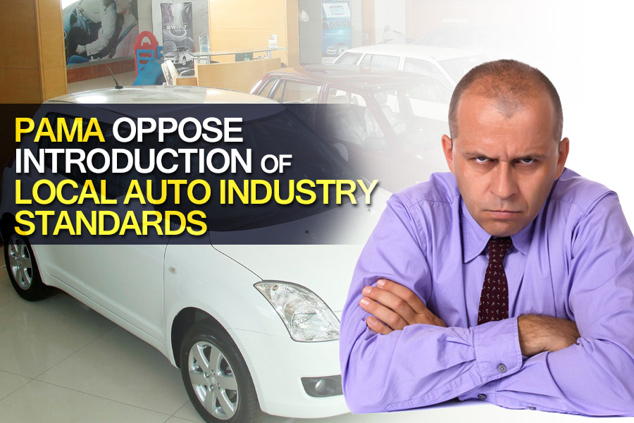 PAMA Oppose Introduction of Local Auto Industry Standards 2
