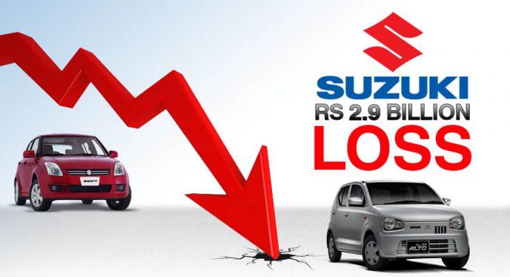 Pak Suzuki Records Rs 2.9 Billion Loss 1