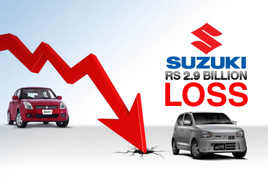 Pak Suzuki Records Rs 2.9 Billion Loss 6