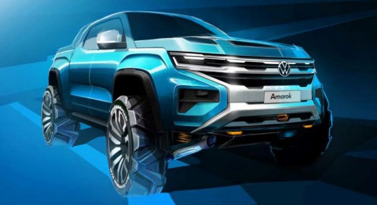 Volkswagen Teases the Second Generation Amarok 2
