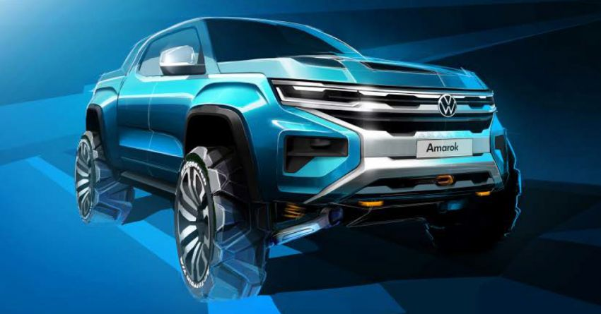 Volkswagen Teases the Second Generation Amarok 3