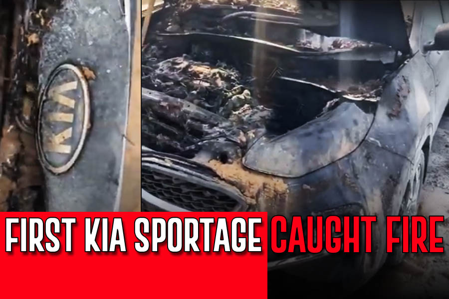 First Kia Sportage Catches Fire in Pakistan 10