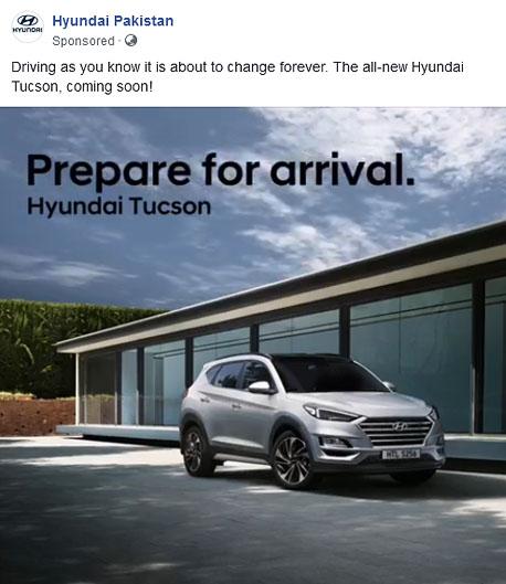 Hyundai Tucson Launching Soon in Pakistan 2