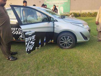 Toyota Yaris Booking Open 5