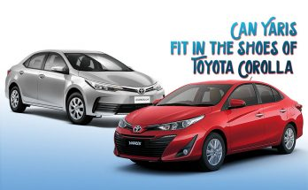 Can Yaris Fit in the Shoes of Toyota Corolla 16