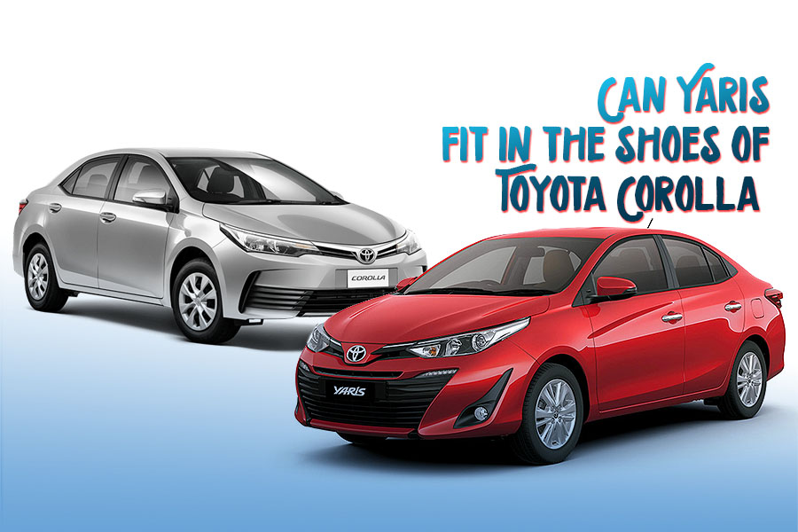 Can Yaris Fit in the Shoes of Toyota Corolla 3