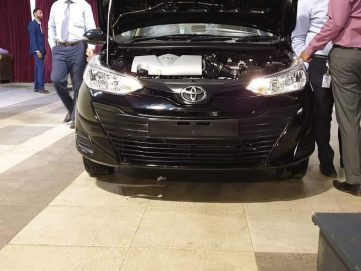First Exclusive Images: 2020 Toyota Yaris in Pakistan 2