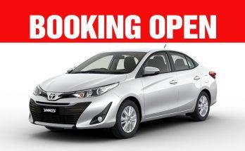 Toyota Yaris Booking Open 27