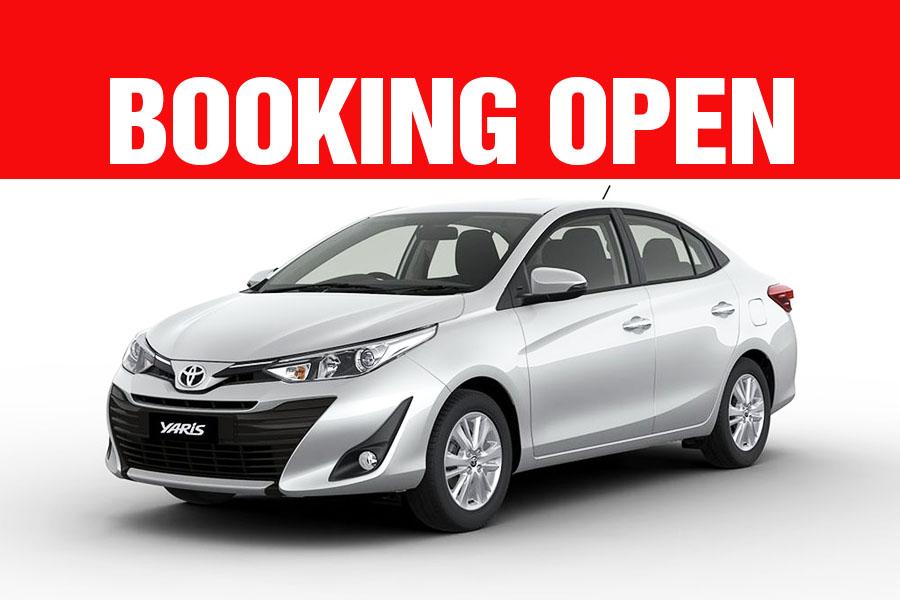 Toyota Yaris Booking Open 1