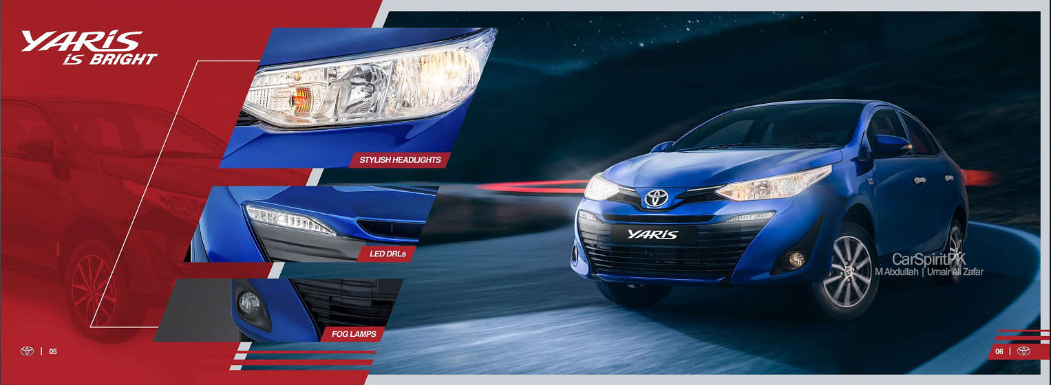 Official 2020 Toyota Yaris Brochure is Out 6
