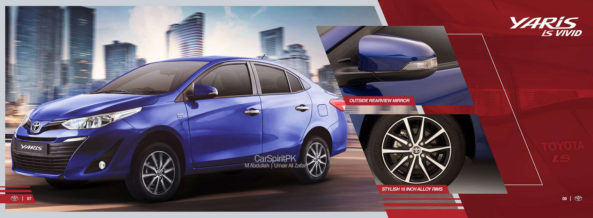 Official 2020 Toyota Yaris Brochure is Out 11