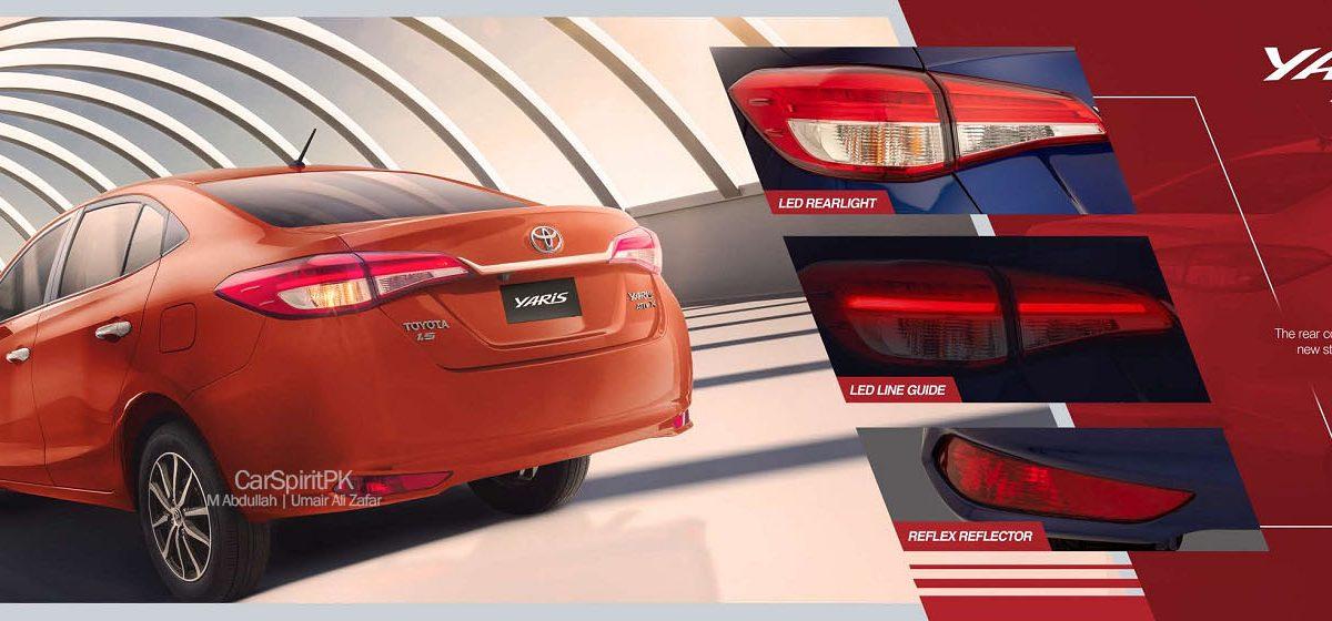 2020 Toyota Yaris Rear LIghts
