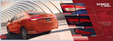 Official 2020 Toyota Yaris Brochure is Out 13