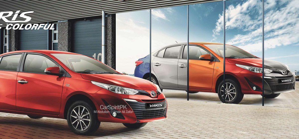 Toyota Yaris 2020 Different Colors Available