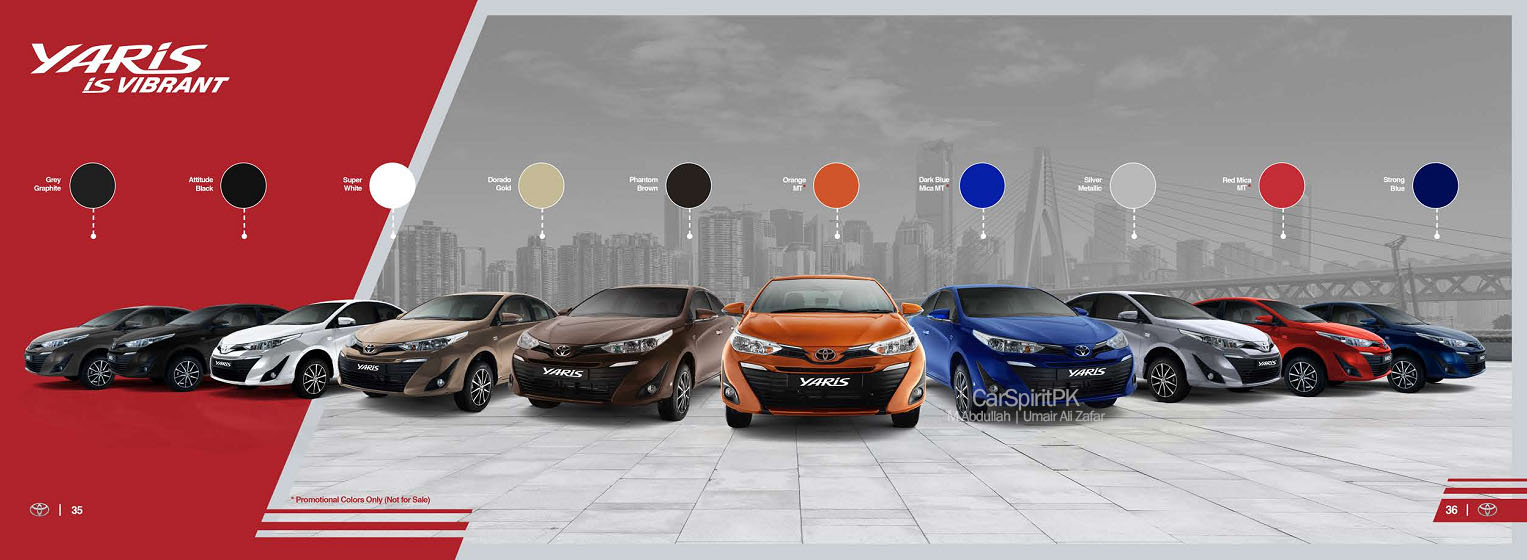 Official 2020 Toyota Yaris Brochure is Out 14