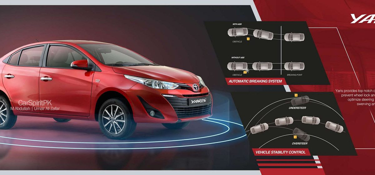 2020 Toyota Yaris have Stability control and Automatic Braking