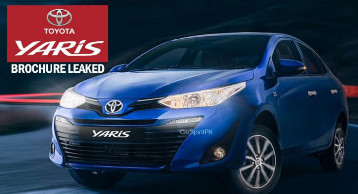 Official 2020 Toyota Yaris Brochure is Out 2