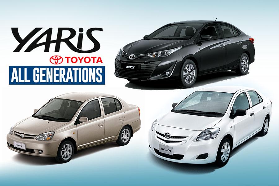 History: Toyota Yaris All Generations 25