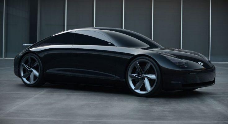 Hyundai Reveals the Stunning Prophecy EV Concept 1