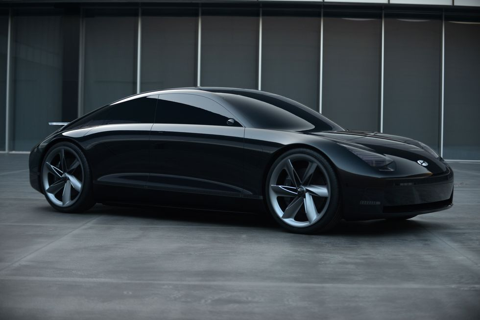 Hyundai Reveals the Stunning Prophecy EV Concept 7
