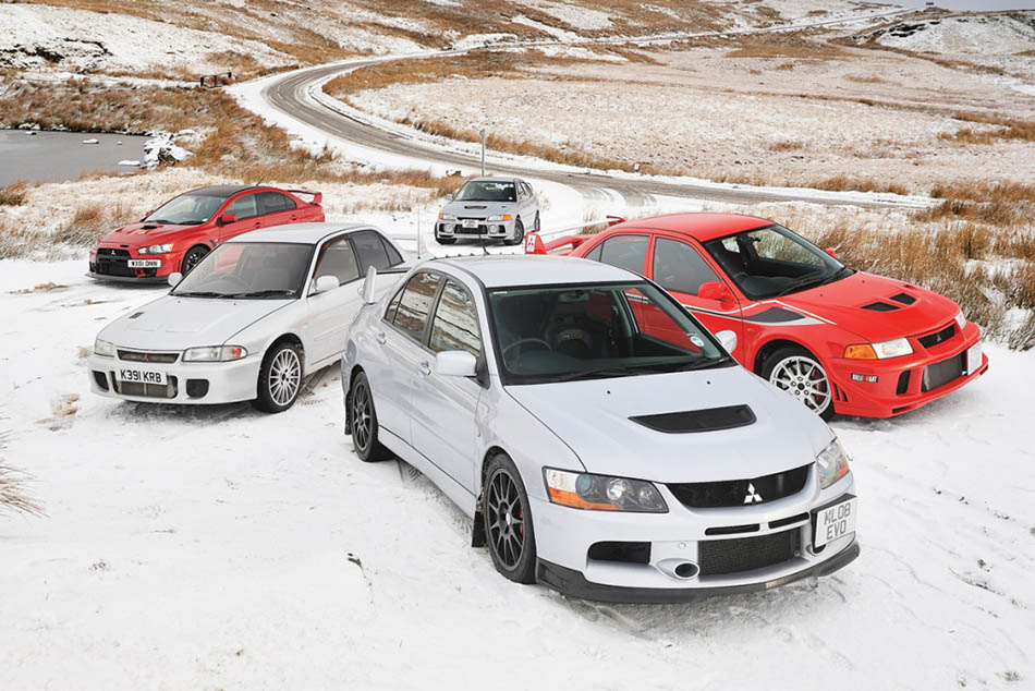 Remembering the Legendary Mitsubishi Lancer Evo 2
