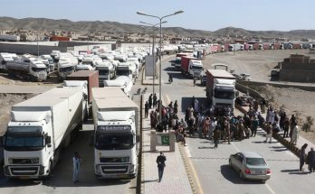 1,400 Cargo Trucks Stranded at Taftan as Border Shut on Coronavirus Fears 3