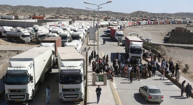1,400 Cargo Trucks Stranded at Taftan as Border Shut on Coronavirus Fears 1