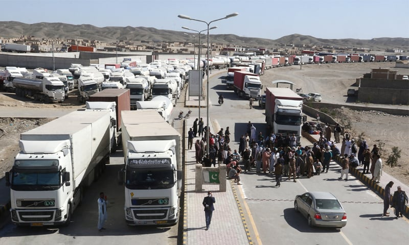 1,400 Cargo Trucks Stranded at Taftan as Border Shut on Coronavirus Fears 1