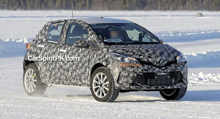 Toyota Begins Cold-Weather Testing of the Yaris Cross 1