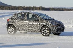 Toyota Begins Cold-Weather Testing of the Yaris Cross 3