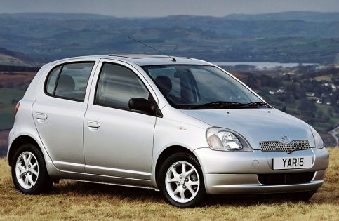 History: Toyota Yaris All Generations 3