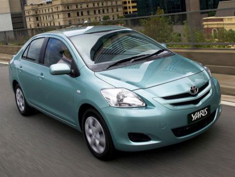 History: Toyota Yaris All Generations 14