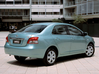 History: Toyota Yaris All Generations 14
