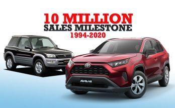 Toyota RAV4 Achieves 10 Million Units Sales Milestone 2