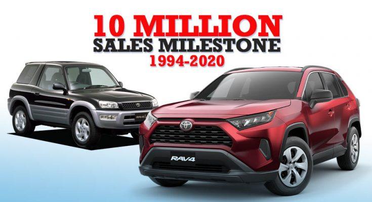 Toyota RAV4 Achieves 10 Million Units Sales Milestone 1