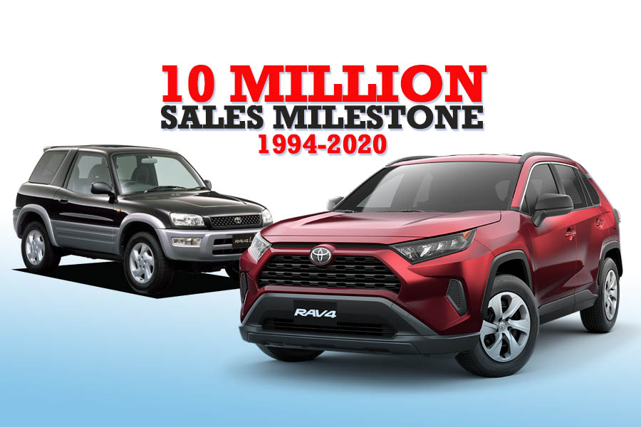 Toyota RAV4 Achieves 10 Million Units Sales Milestone 6