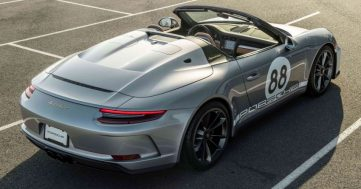 The Last-Ever Porsche 911 to be Auctioned to Fight COVID-19 3