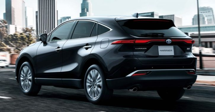 All New Toyota Harrier Goes on Sale in Japan 7