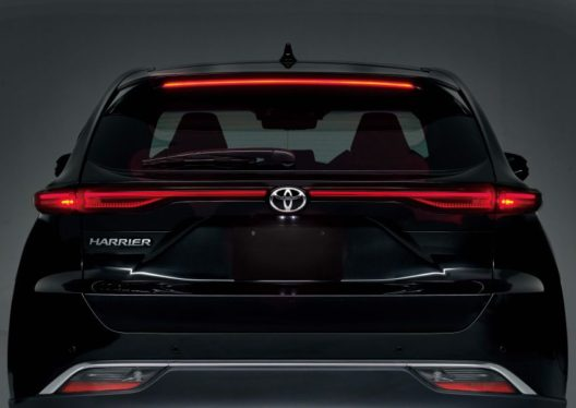 All New Toyota Harrier Goes on Sale in Japan 3