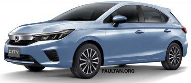 Renderings: All New Honda City Hatchback 4