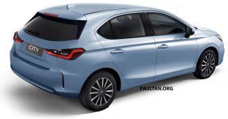 Renderings: All New Honda City Hatchback 5