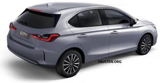 Renderings: All New Honda City Hatchback 3