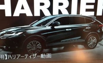 Fourth-Gen 2020 Toyota Harrier Leaked 23