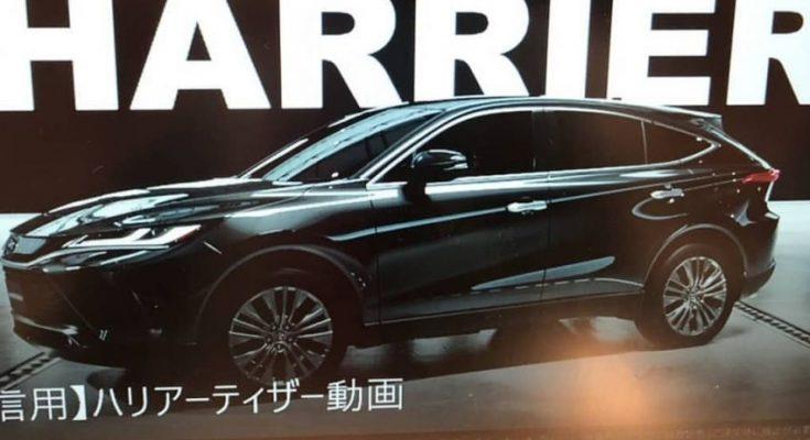 Fourth-Gen 2020 Toyota Harrier Leaked 1